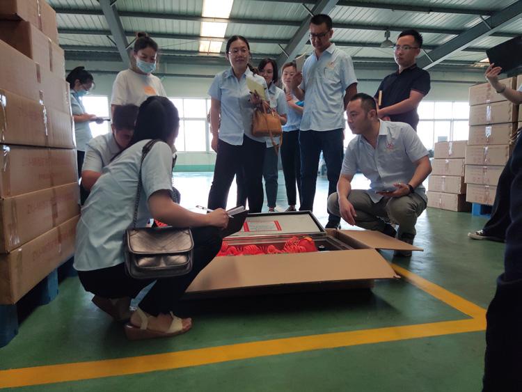 山东BB平台机电电商全体员工去厂实地学习产品知识
